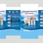 Thiết kế bao bì nhãn mác sản phẩm cho nhãn hàng Akamoto