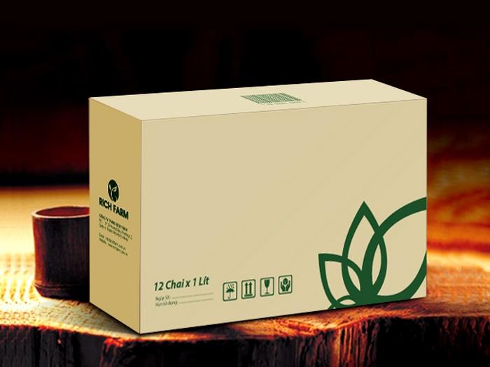 thiet ke bao bi thung carton phan bon rich farm Dịch vụ thiết kế bao bì thùng carton chuyên nghiệp