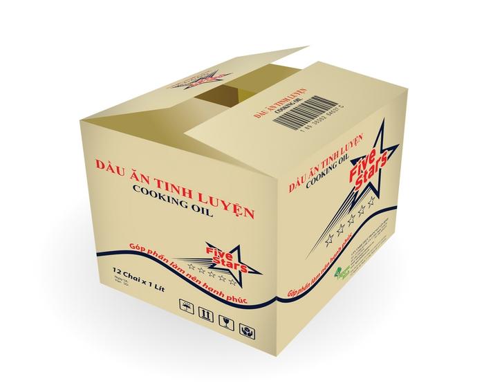 thiet ke thung dung dau an 5stars Dịch vụ thiết kế bao bì thùng carton chuyên nghiệp