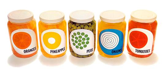 jars Thiết kế bao bì theo phong cách vintage