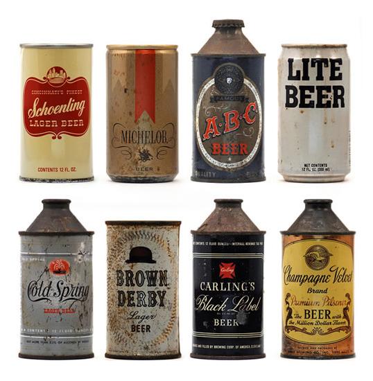vintagebeercans