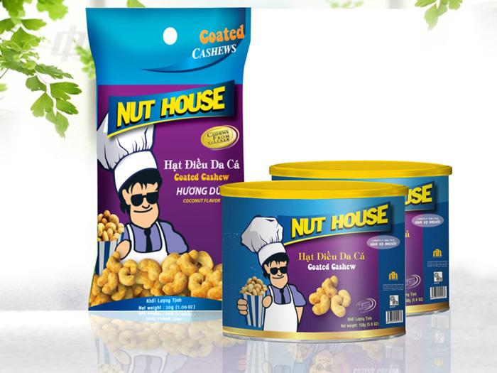 Mẫu thiết kế hạt điều NUT HOUSE