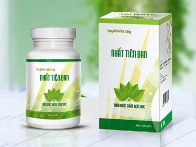 Thiết kế bao bì sản phẩm thực phẩm chức năng chữa bệnh Gout