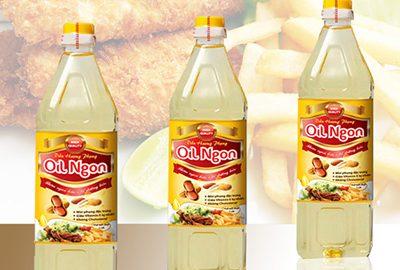 Thiết kế nhãn mác bao bì dầu ăn Oil
