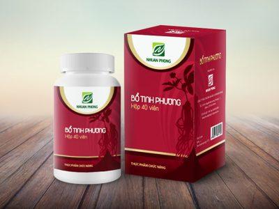 Thiết kế bao bì thuốc đông dược cho nhãn hiệu Nhuận Phong